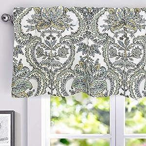 Eden Floral Window Valance 52 18 Multi Color