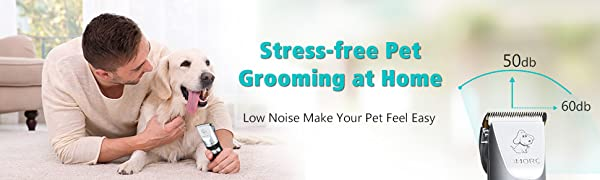 OMORC Cordless Dog Clippers