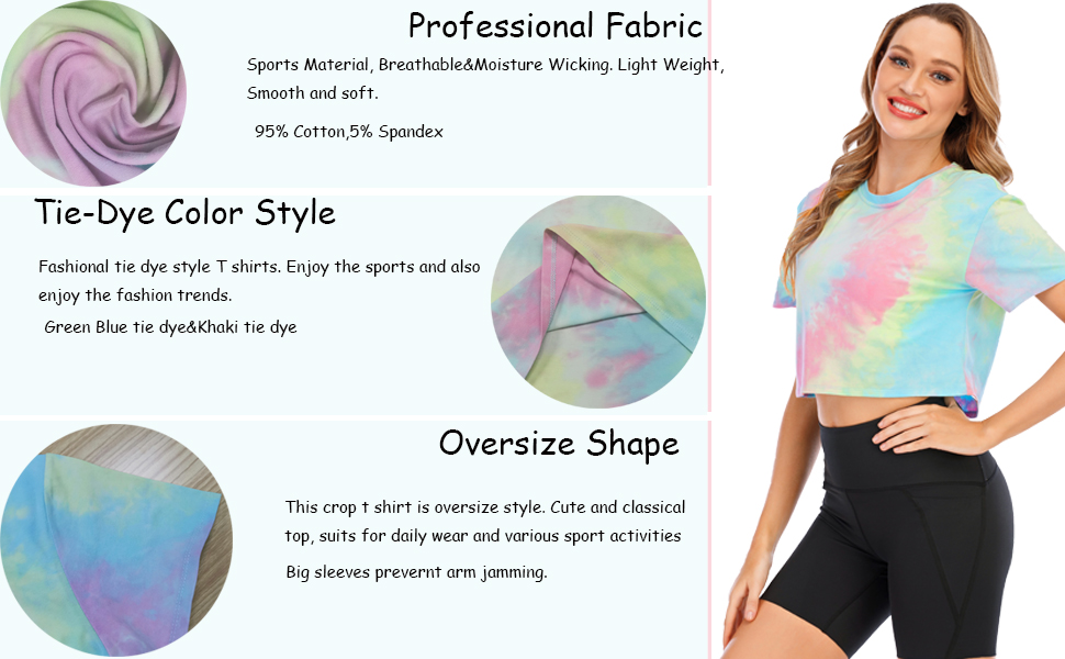 crop tops for women yoga shirts workout top running cycling sports activewear gym athletic top