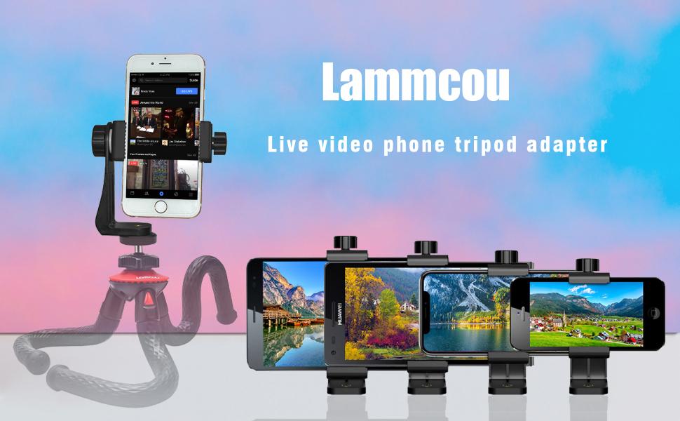 Tripod Smartphone Mount Adapter
