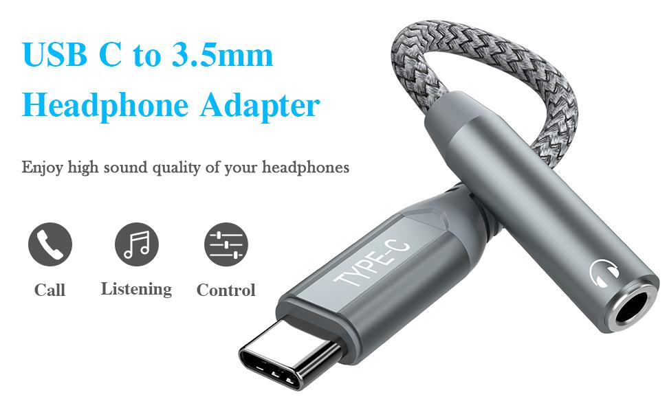 USB C Headphone Adapter Samsung Note 20 Ultra