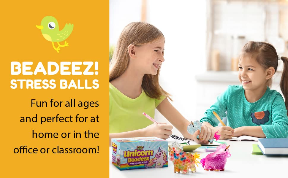 Beadeez! Stress Balls. Fun for all ages and perfect for at home or in the office or classroom!