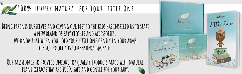 best organic soft baby infant hooded towel gender neutral white