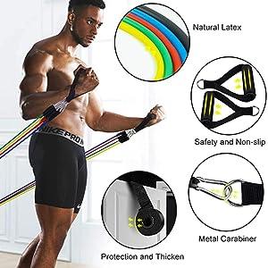 tube resistance bands set