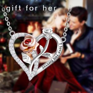 Christmas gift for women love necklace for women gift for women