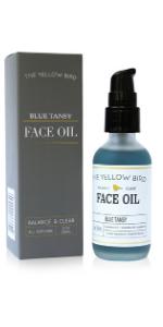 blue tansy face oil