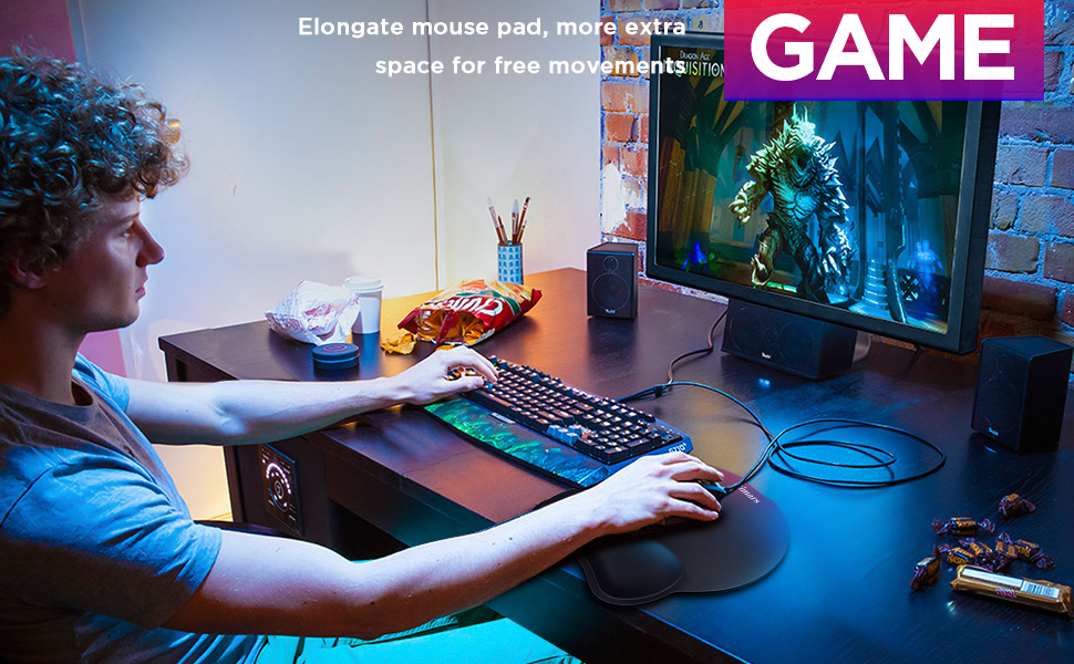 Gimars round mouse pad
