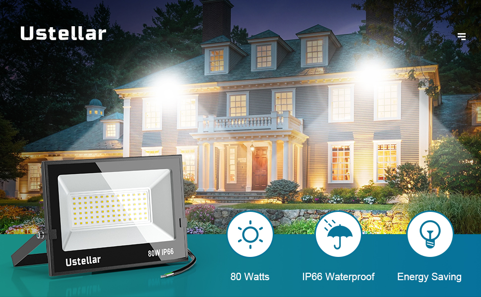 led light outdoor