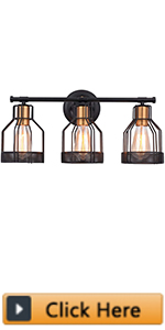 Metal Wire Cage Wall Sconce