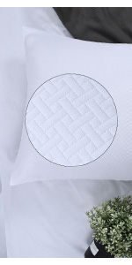MATELASSE PILLOW SHAMS