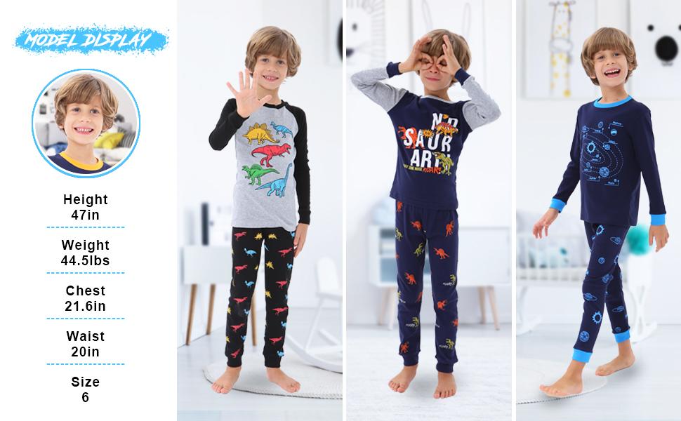 pajamas for boys 6 years old, pjs for boys 5 6 7 8 10 12 yr old 2t pajamas boys,18 month boy pajamas