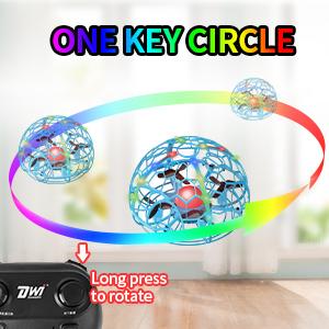 drone one key circle