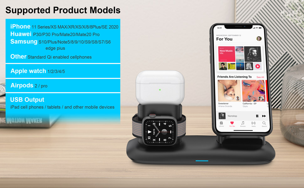 AIRPODS WIRELSS CHARGER