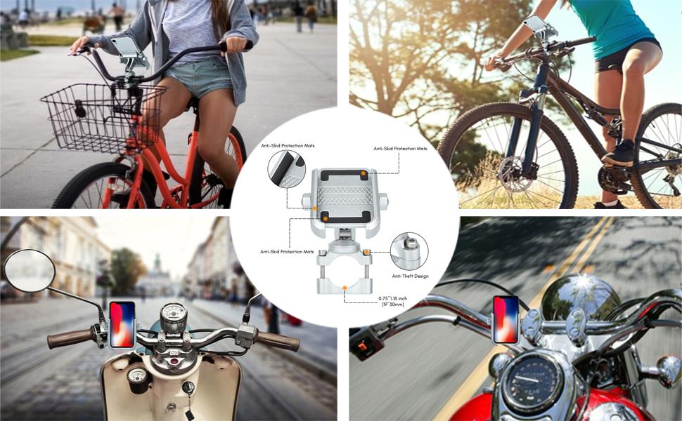 Bike Motorbike Mobile Phone Holder present gift for boyfriend christmas birthday