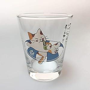 みたらしちゃん 猫 グラス タンブラー 浮き輪