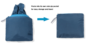 mens upf sun protective jacket is packable and portable