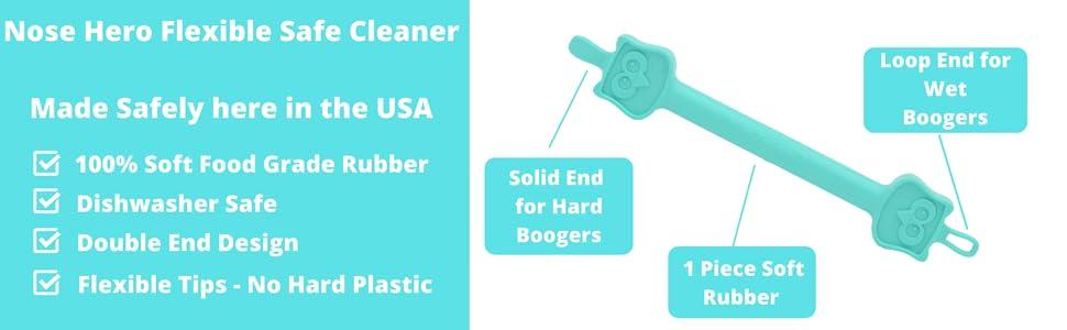 safe soft nose cleaner
