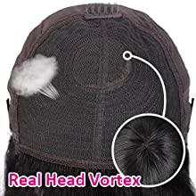 Real head vortex