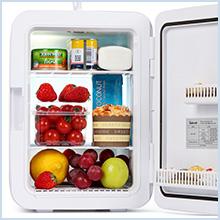 mini fridge 10 litre for bedrooms car fridge skincare fridge