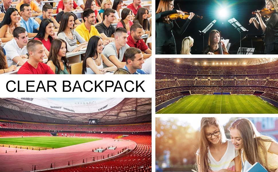 backpack clear