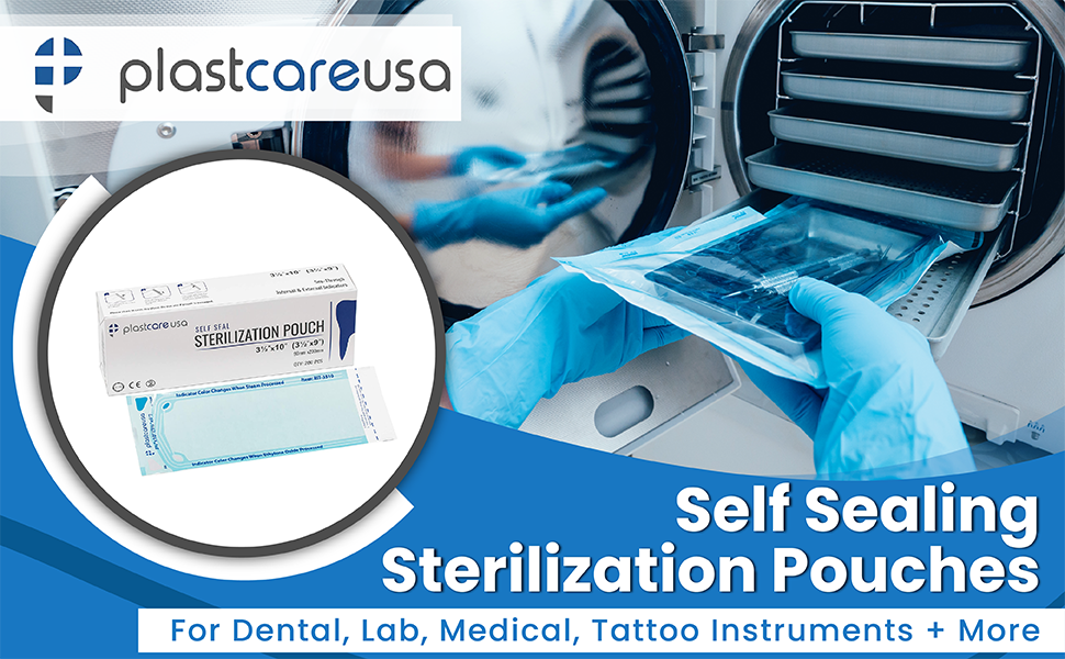 nail sterilizer dental bag bags sterilization box autoclave pouch sanitizer salon tool pouches uv