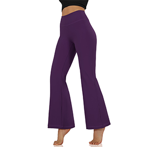 ODODOS BootCut Yoga Pants with Pockets