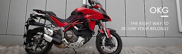 Heavy Duty Motorcycle Security Chain Lock