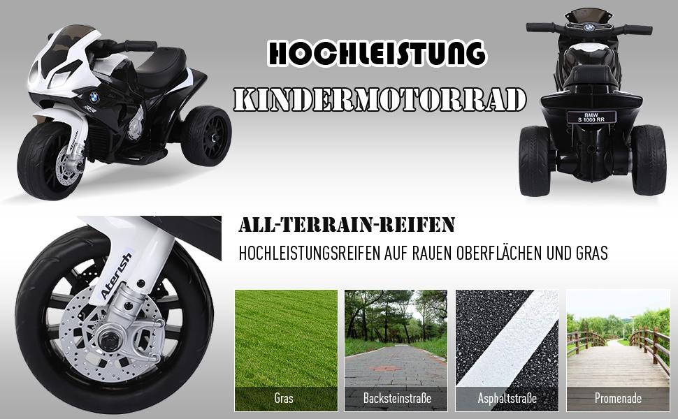 Elektro Kindermotorrad Kinderfahrzeug Elektro-Dreirad