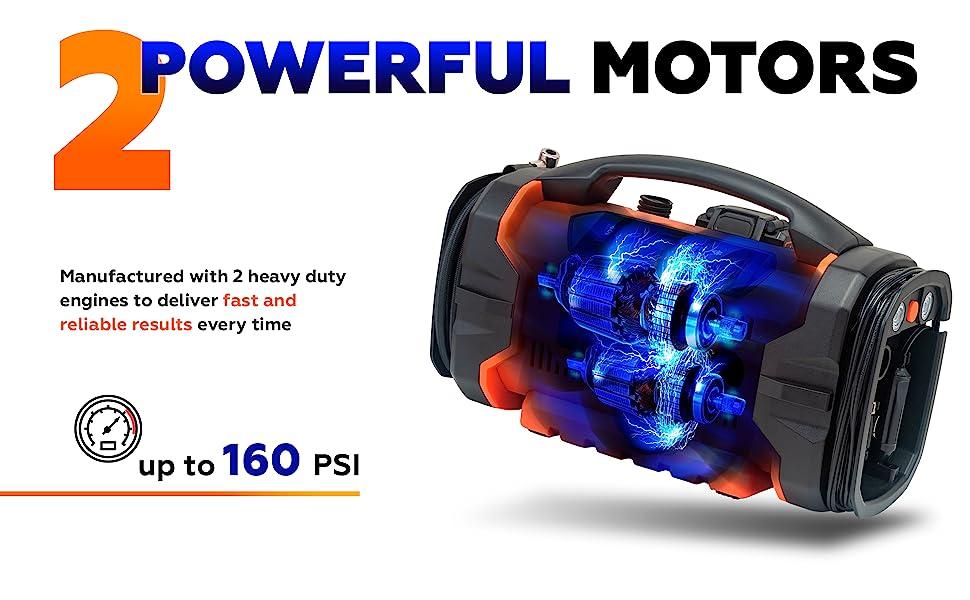 fast tire inflator portable compressor pump 12 volt tire inflator portable tire inflator pump