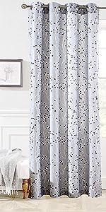 harper window curtain 52 84 gray
