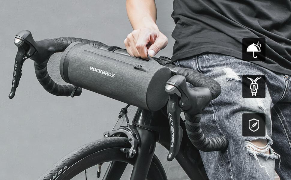 ROCKBROS Bike Front Frame Storage Handlebar Bags