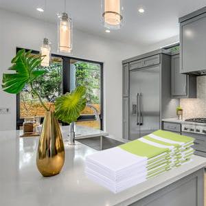 in kitchen green kitchen sack towel