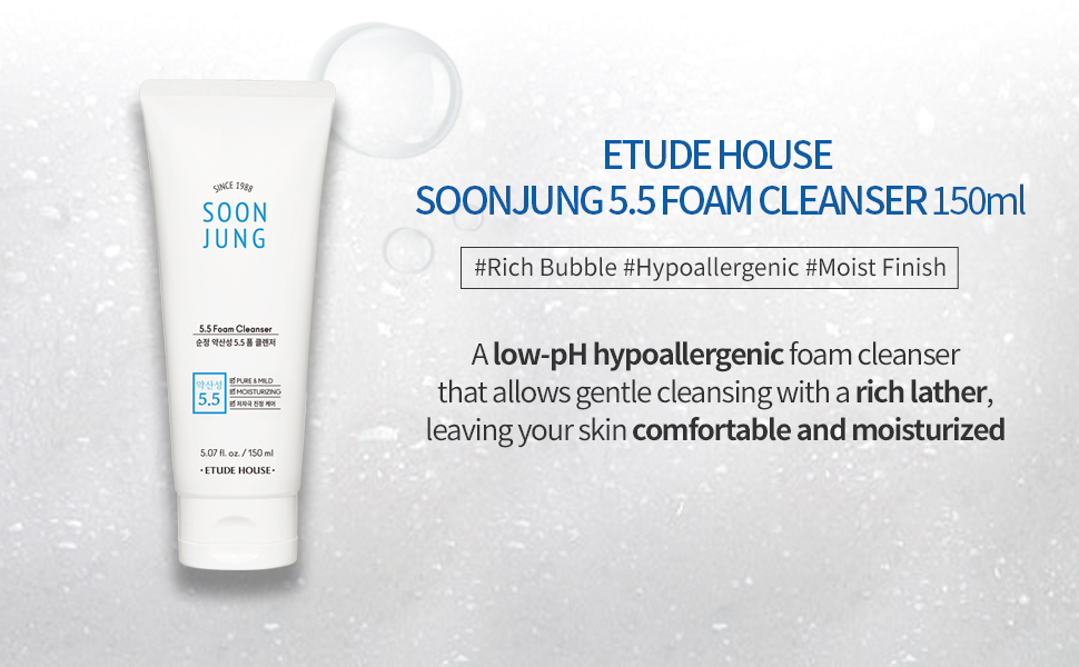 SoonJung 5.5 Foam Cleanser 150ml