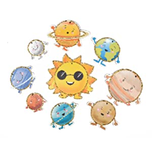 Sun with its 8 planets