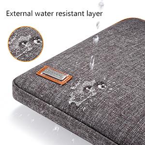 Spill-resistant Exterior