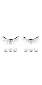 lash'd up magnetic lashes no eyeliner needed without liner no magnetic eyeliner original magnet