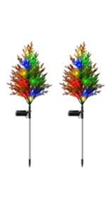 solar tree light