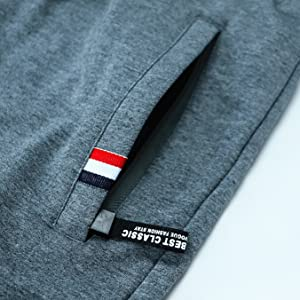 Zip Pockets for cotton Shorts