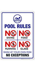 Pool Sign 3