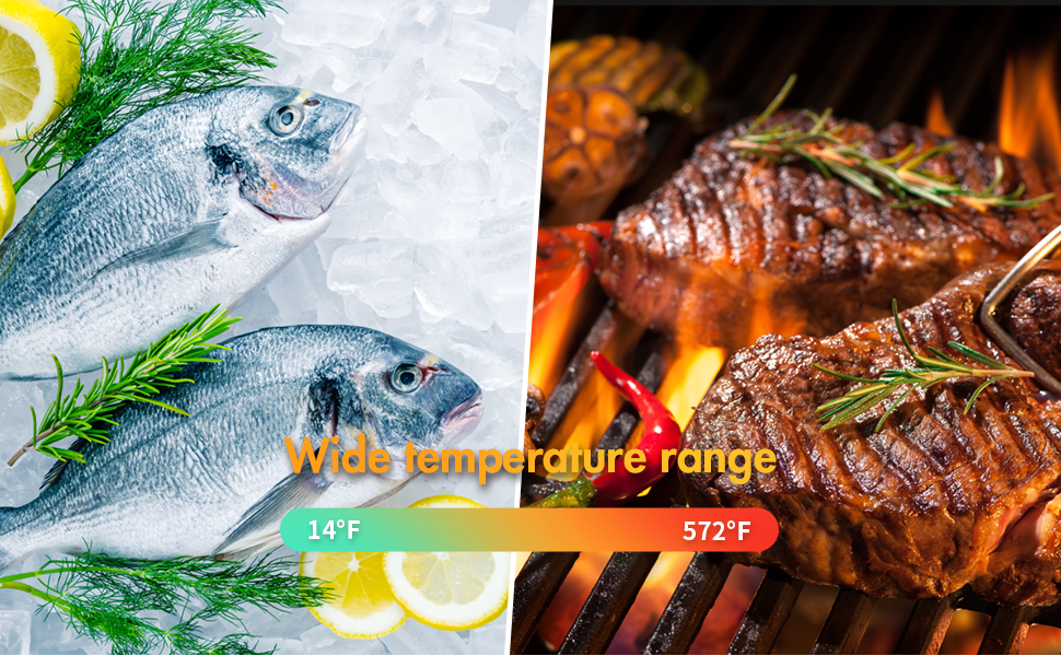 Whousewe Digital Thermometer for Cooking