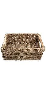 Low seagrass storage baskets