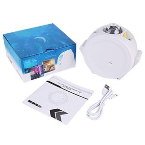 WiFi LED Proiettore Luce notturna, LUXONIC Smart LED Proiettore Luce Stelle per bambini Vacanze