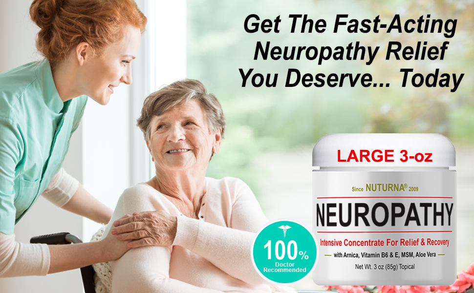 neuropathy support pain relief Crean for nerve damage formula
