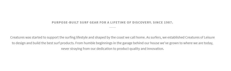 Purpose-Built Surf Gear