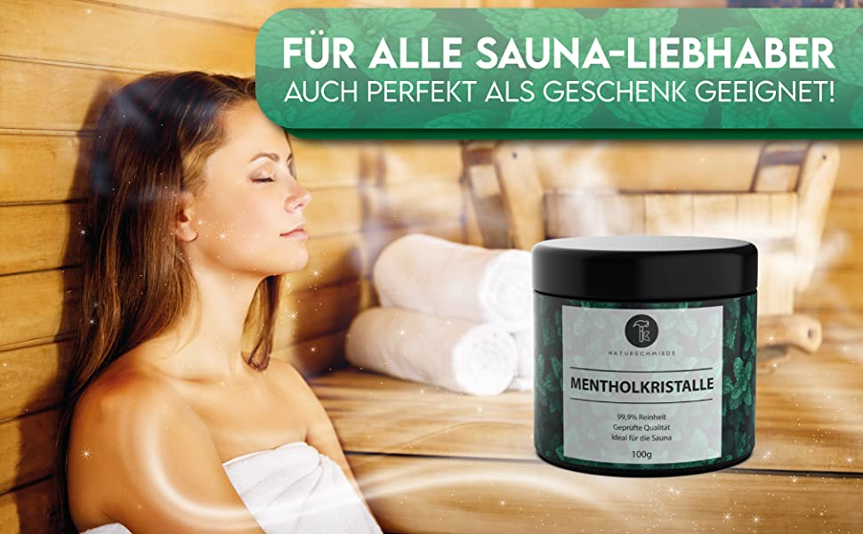 Menthol Kristalle geruch relax 100g