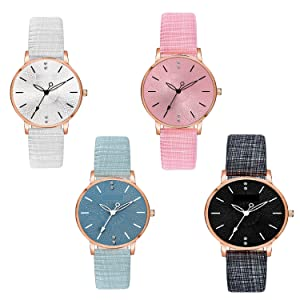 Combo watch for women Pack Of 4