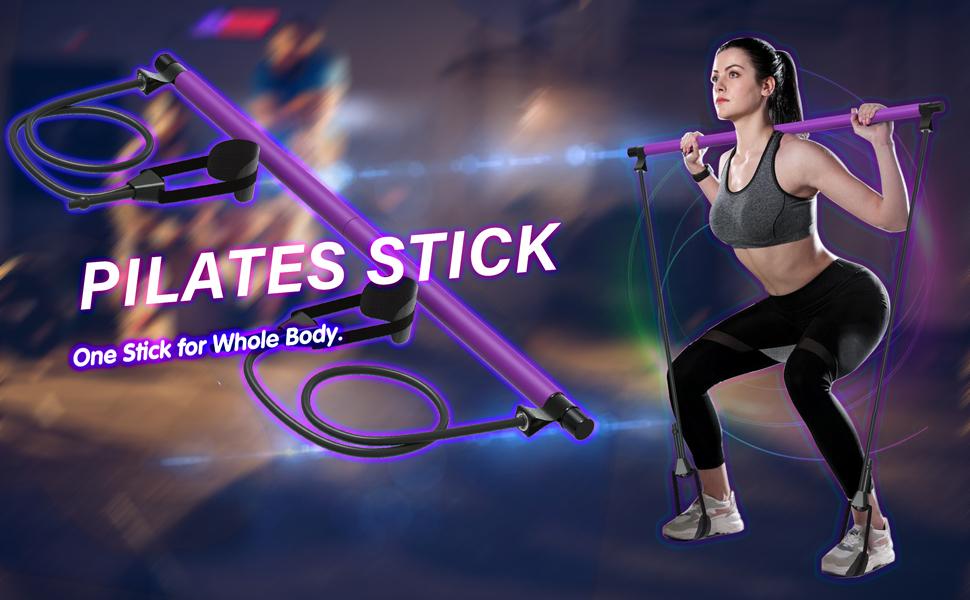 pilates stick