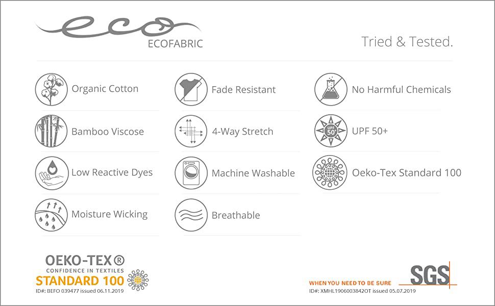 oeko tex certified sgs testing