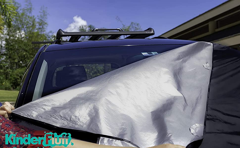 Wiper Windscreen Windshield Cover Snow Frost Ice Dust Sun UV Shade Bird Poop Faeces Winter Summer UV