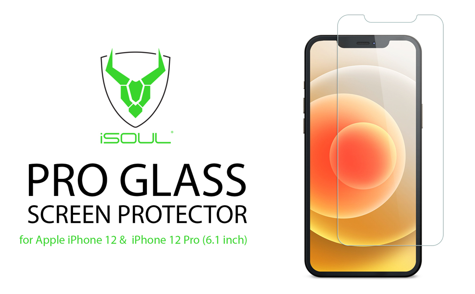 iSOUL Tempered Glass for iPhone 12 pro